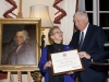 Ambassador Susman presents certificate to Anthea