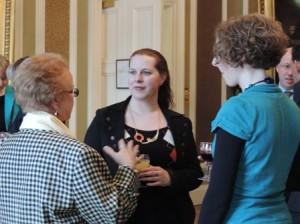 Guest at Royal Society Edinburgh April 26, 2013