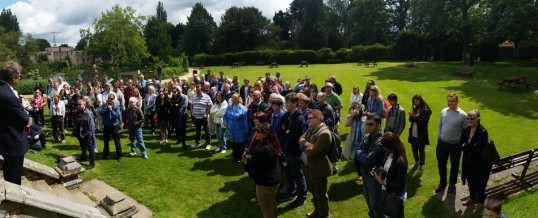 Over 150 join JAS visit to Bletchley Park