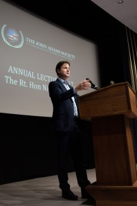 Nick Clegg delivers the 2016 JAS Annual Lecture