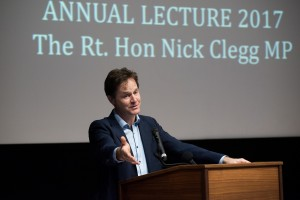Nick Clegg delivers the JAS Annual Lecture 2016